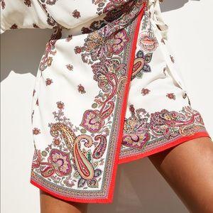 Zara Dresses - Zara NWT Wrap Printed Dress Size M